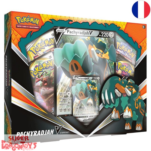 "POKEMON TCG - ""PACHYRADJAH V"" BOX - EDITION FRANCAISE"