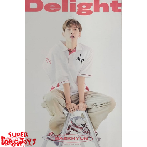 BAEKHYUN - OFFICIAL POSTER [DELIGHT] - SPECIAL [LIMITED] EDITION