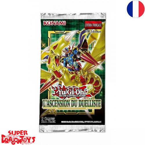 "YUGIOH TCG - BOOSTER ""L'ASCENSION DU DUELLISTE"" - EDITION FRANCAISE"