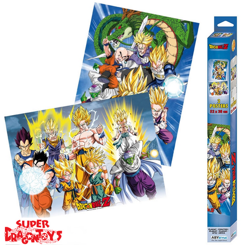 "DRAGON BALL Z -  POSTERS [SET] ""GROUPE"""