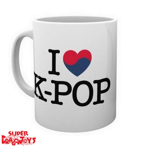"KPOP - MUG "" I LOVE KPOP"""