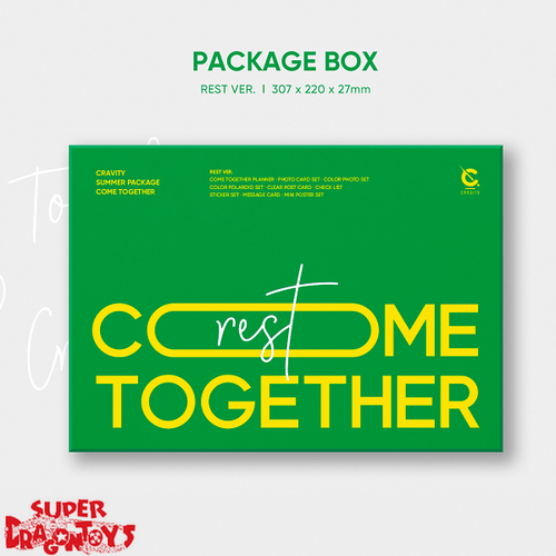 CRAVITY (크래비티) - SUMMER PACKAGE : COME TOGETHER - [REST] VERSION