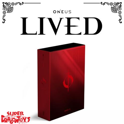 ONEUS (원어스) - LIVED - 4TH MINI ALBUM