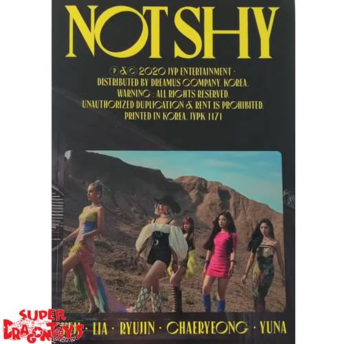 ITZY (있지) - NOT SHY - VERSION [A/YELLOW] - ALBUM