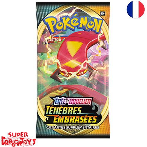 """POKEMON TCG - BOOSTER """"EPEE ET BOUCLIER : TENEBRES EMBRASEES"""" - EDITION FRANCAISE"""