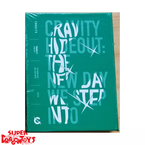 CRAVITY (크래비티) - HIDEOUT : THE NEW DAY WE STEP INTO - VERSION [3/GREEN] - 2ND MINI ALBUM