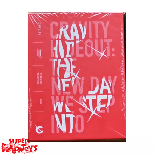 CRAVITY (크래비티) - HIDEOUT : THE NEW DAY WE STEP INTO - VERSION [2/RED] - 2ND MINI ALBUM