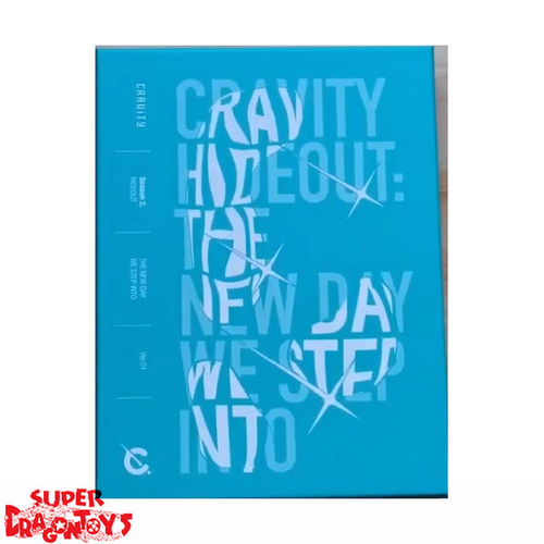 CRAVITY (크래비티) - HIDEOUT : THE NEW DAY WE STEP INTO - VERSION [1/BLUE] - 2ND MINI ALBUM