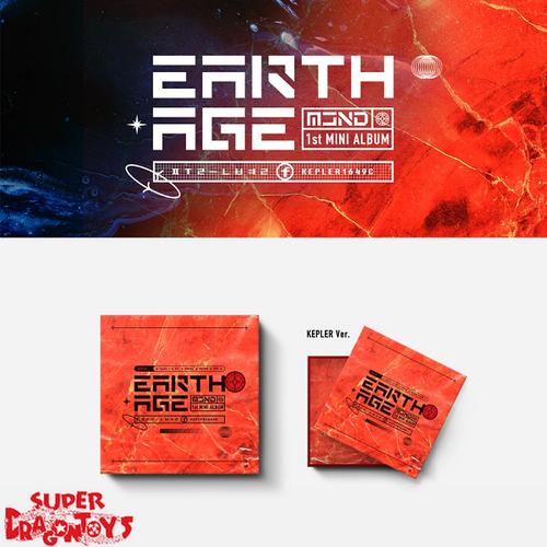 MCND - EARTH AGE - [KEPLER] VERSION - 1ST MINI ALBUM