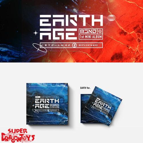 MCND - EARTH AGE - [EARTH] VERSION - 1ST MINI ALBUM