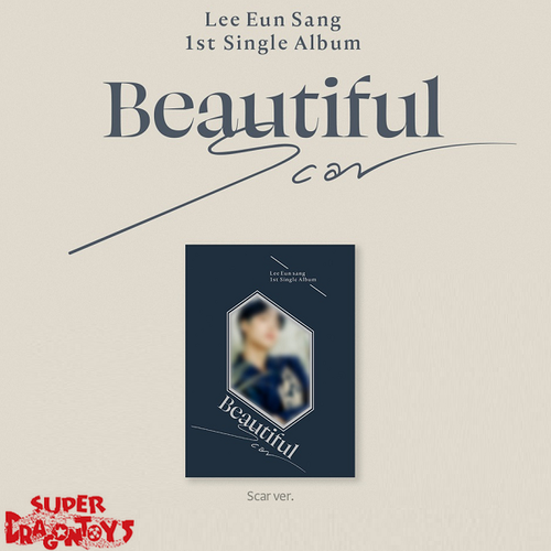LEE EUN SANG (이은상) - BEAUTIFUL SCAR - [SCAR] VERSION - 1ST SINGLE ALBUM