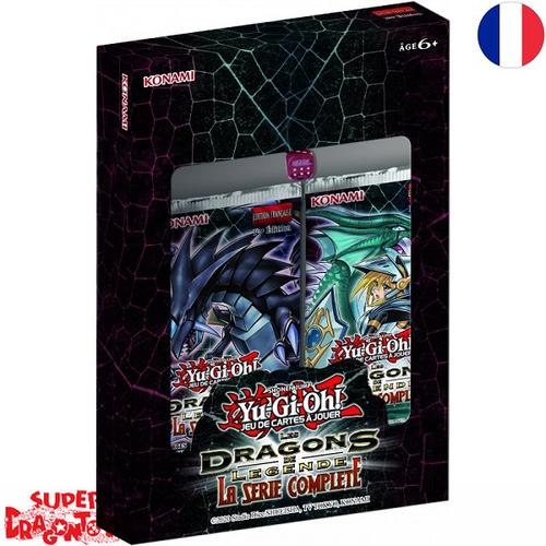 """YUGIOH - COFFRET """"LES DRAGONS DE LEGENDE : LA SERIE COMPLETE"""" - EDITION FRANCAISE"""