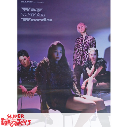"""KARD - """"WAY WITH WORDS"""" OFFICIAL POSTER"""