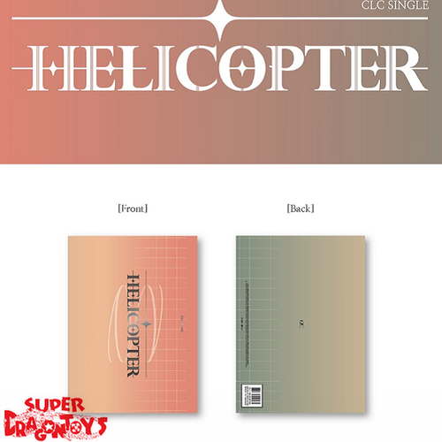 CLC (씨엘씨) - HELICOPTER - SINGLE ALBUM