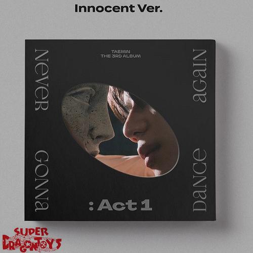 TAEMIN (태민) - NEVER GONNA DANCE AGAIN : ACT 1 - [B/INNOCENT : BLACK] VERSION - 3RD ALBUM