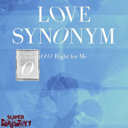 WONHO - LOVE SYNONYM #1 : RIGHT FOR ME - VERSION [2] - 1ST MINI ALBUM