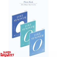 WONHO - LOVE SYNONYM #1 : RIGHT FOR ME - VERSION [1] - 1ST MINI ALBUM