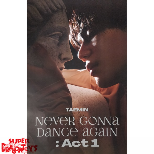 """TAEMIN - """"NEVER GONNA DANCE AGAIN"""" OFFICIAL POSTER - [INNOCENT] VERSION"""