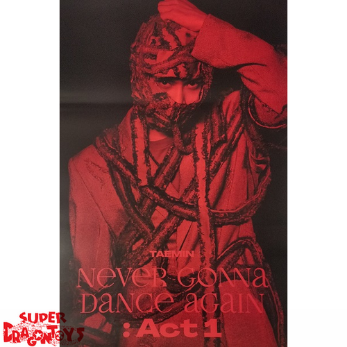 """TAEMIN - """"NEVER GONNA DANCE AGAIN"""" OFFICIAL POSTER - [SUSPECT] VERSION"""