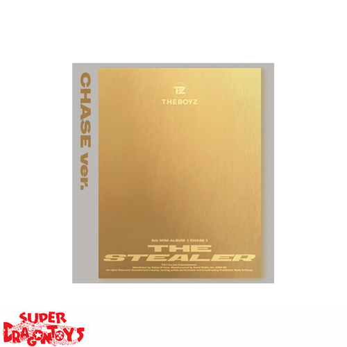 THE BOYZ (더보이즈) - CHASE - [CHASE/GOLD] VERSION - 5TH MINI ALBUM
