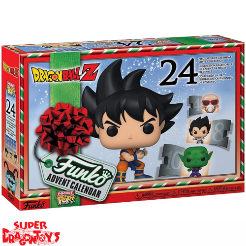 DRAGON BALL Z - CALENDRIER DE L'AVENT 2020 - FUNKO POP