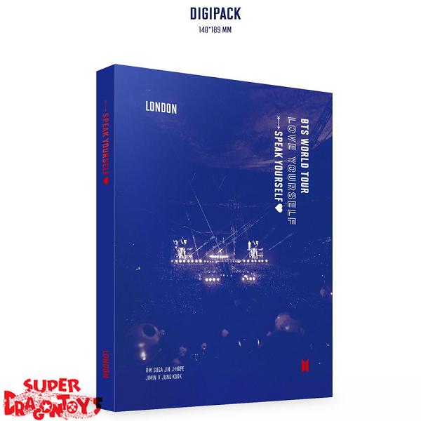 BTS (방탄소년단) - BTS WORLD TOUR [LOVE YOURSELF : SPEAK YOURSELF] LONDON - [2DVD] BOX