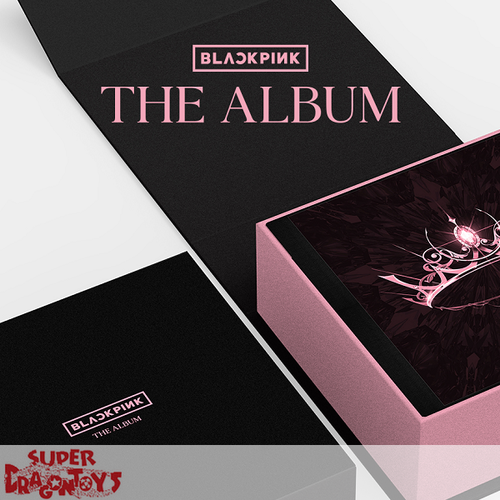 BLACKPINK (블랙핑크) - THE ALBUM - VERSION [1/REGULAR BLACK] - 1ST FULL ALBUM