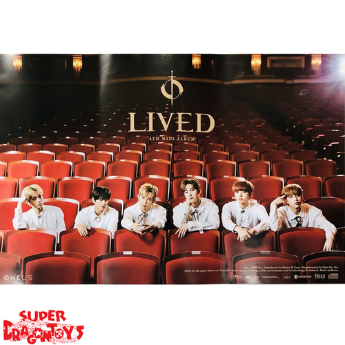 """ONEUS  - """"LIVED"""" OFFICIAL POSTER - VERSION [D]"""