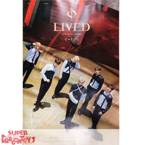 """ONEUS  - """"LIVED"""" OFFICIAL POSTER - VERSION [C]"""