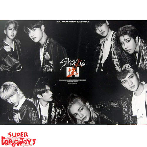"""STRAY KIDS  - """"IN LIFE"""" OFFICIAL POSTER - VERSION [B]"""
