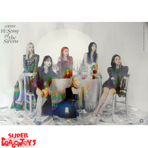"""GFRIEND - """"SONG OF THE SIRENS"""" OFFICIAL POSTER - VERSION [A]"""