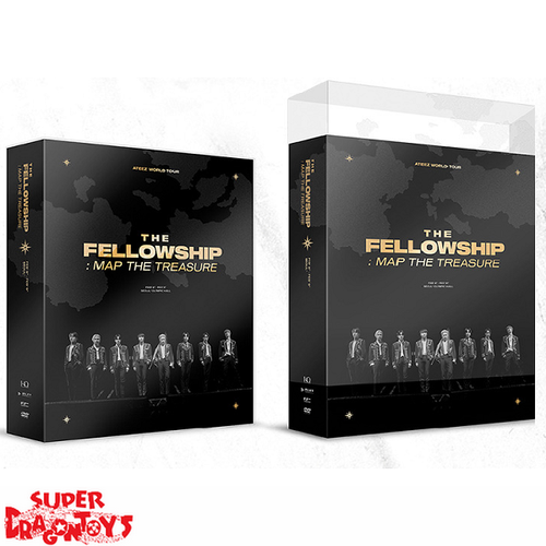 ATEEZ (에이티즈) - ATEEZ WORLD TOUR [THE FELLOWSHIP : MAP THE TREASURE] - [2DVD] BOX