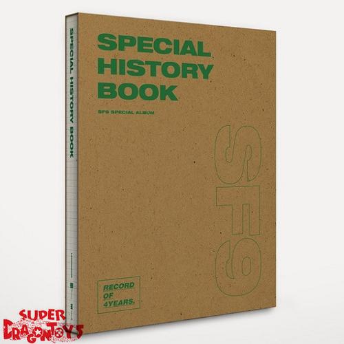 SF9 (에스에프나인) - SPECIAL HISTORY BOOK - SPECIAL ALBUM
