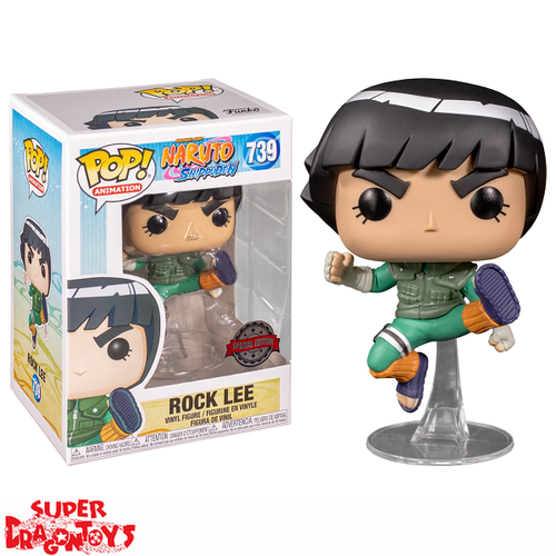 NARUTO SHIPPUDEN - ROCK LEE - FUNKO POP [EXCLUSIVE EDITION]