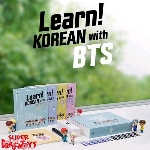 BTS - LEARN! KOREAN WITH BTS - BOOK PACKAGE SET