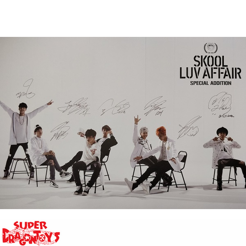 """BTS - """"SKOOL LUV AFFAIR [SPECIAL ADDITION]"""" OFFICIAL POSTER"""
