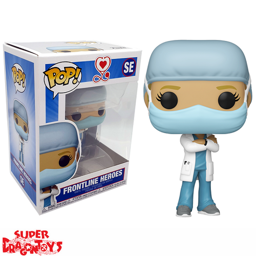GLOBALGIVING (COVID19 PANDEMIC) - FRONTLINE HEROES [WOMAN] - FUNKO POP