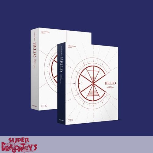 CIX (씨아이엑스) - HELLO, STRANGE TIME - [STRANGE TIME] VERSION - 3RD EP ALBUM