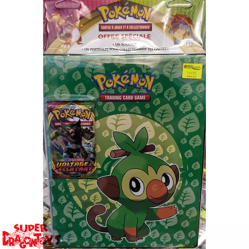 POKEMON TCG - PACK SPECIAL [PORTFOLIO FORMAT A4 + 1 BOOSTER POKEMON] - EDITION FRANCAISE