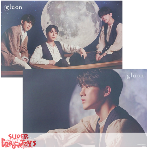 "DAY6/EVEN OF DAY - ""BOOK OF US : GLUON"" OFFICIAL POSTER -  VERSION [DOWOON]  (DOUBLE SIDED)"