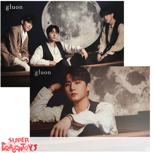 """DAY6/EVEN OF DAY - """"BOOK OF US : GLUON"""" OFFICIAL POSTER - VERSION [YOUNG K] (DOUBLE SIDED)"""