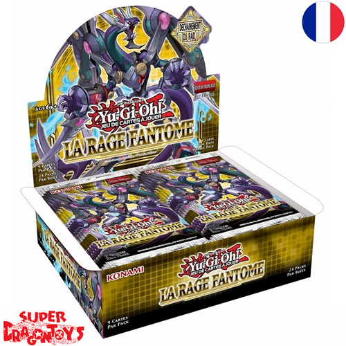"""YUGIOH TCG - DISPLAY [24 BOOSTERS] """"LA RAGE FANTOME"""" - EDITION FRANCAISE"""