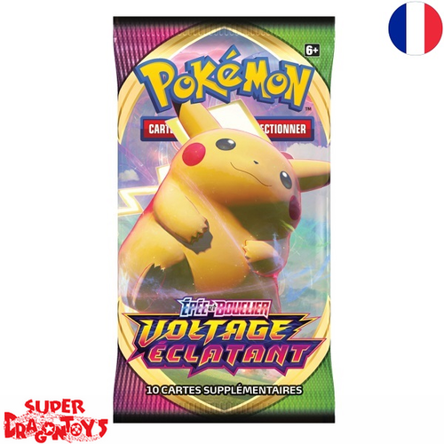 "POKEMON TCG - BOOSTER ""EPEE ET BOUCLIER / VOLTAGE ECLATANT"" - EDITION FRANCAISE"
