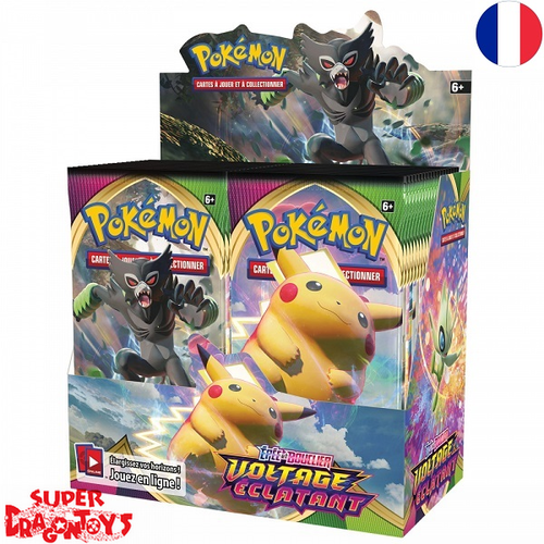 "POKEMON TCG - DISPLAY [36 BOOSTERS] ""EPEE ET BOUCLIER / VOLTAGE ECLATANT"" - EDITION FRANCAISE"