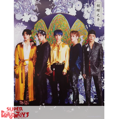 """A.C.E - """"HJZM : THE BUTTERFLY PHANTASY"""" OFFICIAL POSTER - VERSION [C]"""