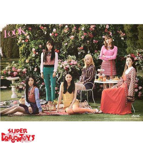 """APRIL - """"LOOK"""" OFFICIAL POSTER"""