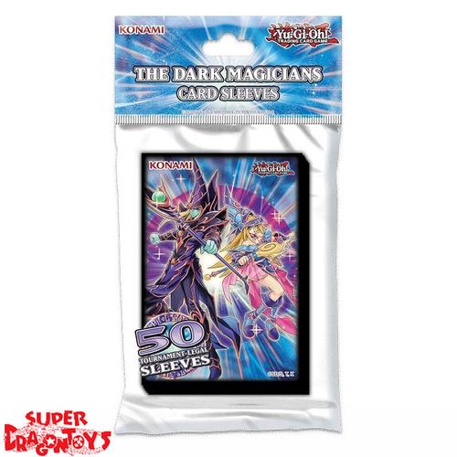 "YUGIOH TCG - CARD SLEEVES ""THE DARK MAGICIANS"" (TOURNAMENT LEGAL)"