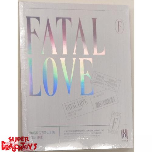 MONSTA X (몬스타엑스) - FATAL LOVE - VERSION [4 / METAL GREY] - 3RD ALBUM