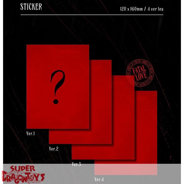 Monsta X ˪¬ìŠ¤íƒ€ì—'스 Fatal Love Version 3 Silver Light 3rd Album Superdragontoys