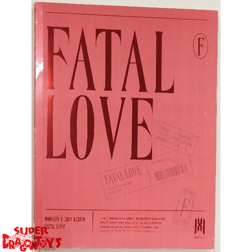 MONSTA X (몬스타엑스) - FATAL LOVE - VERSION [2 / RED] - 3RD ALBUM